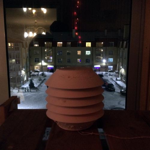 Корпус для метеостации на балконе