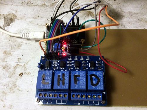 Контроллер для управления теплицей